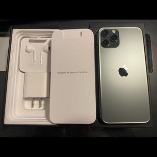 Apple - SIMフリー iphone 11 PRO 64GBグリーン