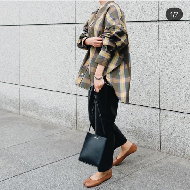 DEUXIEME CLASSE(ドゥーズィエムクラス)のmachatt スタンドカラーシャツ レディースのトップス(シャツ/ブラウス(長袖/七分))の商品写真
