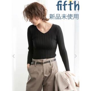 fifth - Vネック フィットニット★フィフス★新品未使用