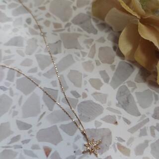 スター 10k ダイヤモンド ペンダント 新品未使用