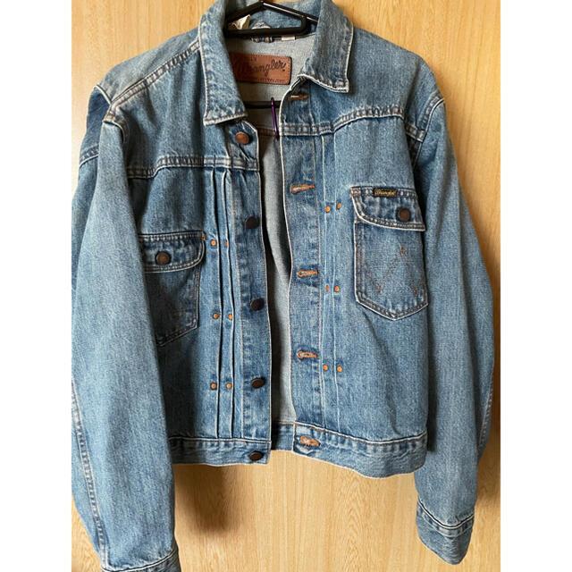 Wrangler(ラングラー)の激安‼︎ ラングラー ジージャン 11mj  ジョンレノン リーバイス セカンド メンズのジャケット/アウター(Gジャン/デニムジャケット)の商品写真