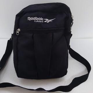 リーボック(Reebok)のReebok classic リーボック ショルダーバッグ レディース 黒(ショルダーバッグ)