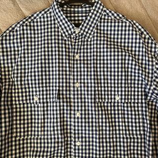 PORTER - porter classic ロールアップシャツ ネイビー XL ハズムさん