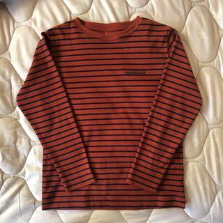 mont bell - 美品 モンベル 120 ウィックロン シャツ レンガ色