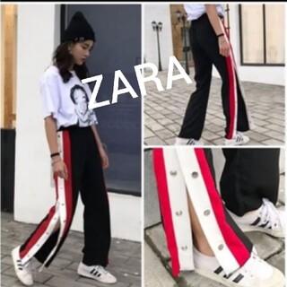 ZARA - 新品♪ZARA★サイドスリットワイドボトム