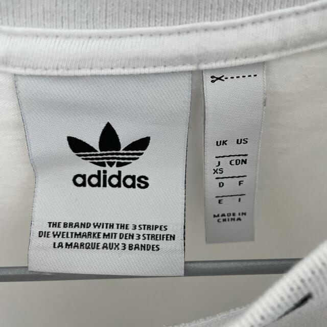 adidas(アディダス)のアディダス 半袖 Tシャツ レディースのトップス(Tシャツ(半袖/袖なし))の商品写真