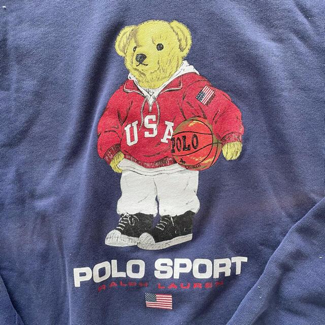 POLO RALPH LAUREN(ポロラルフローレン)のラルフローレン♡ビックシルエットトレーナー レディースのトップス(トレーナー/スウェット)の商品写真