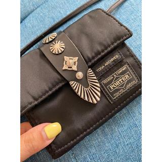 トーガ(TOGA)のトーガ×ポーターショルダーウォレット(財布)