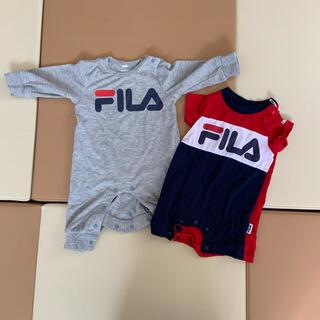 フィラ(FILA)のFILA  西松屋 ロンパース セット 70(ロンパース)