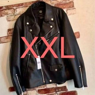 UNDERCOVER - 希少!ジーユー×アンダーカバー ライダースジャケット 新品 XXL
