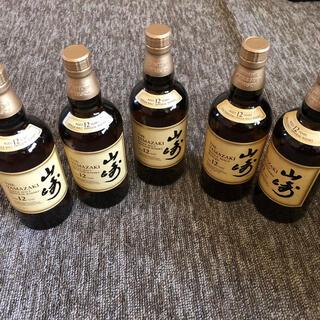 サントリー - 山崎12年 5本 新品 未開封