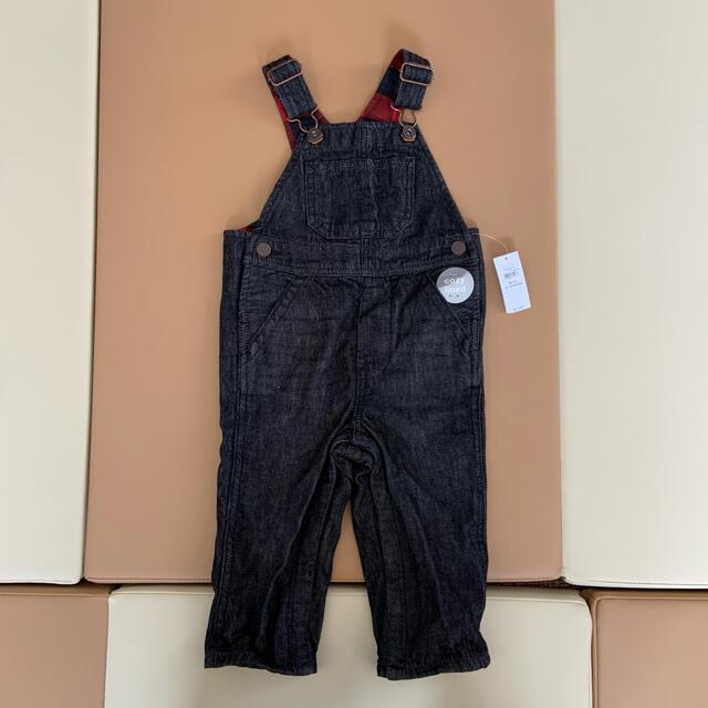 babyGAP(ベビーギャップ)の新品未使用 baby gap デニムサロペット 80 キッズ/ベビー/マタニティのベビー服(~85cm)(ロンパース)の商品写真