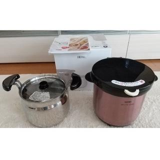サーモス(THERMOS)のサーモス シャトルシェフ 4.5L ミストピンク(調理道具/製菓道具)