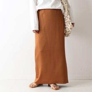 FRAMeWORK - FRAMeWORK フレームワーク ヘビーサテンマキシタイトスカート