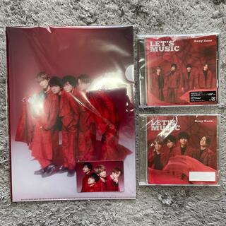 セクシー ゾーン(Sexy Zone)のLET'S MUSIC(初回限定盤A、通常盤)(ポップス/ロック(邦楽))