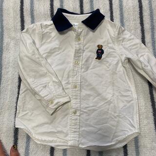 Ralph Lauren - ラルフローレン キッズ ベア刺繍シャツ 24m 90