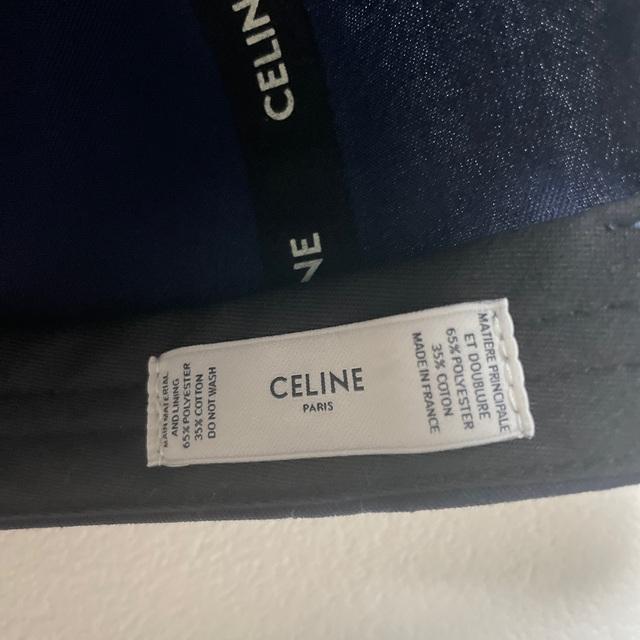 celine(セリーヌ)のセリーヌ ベースボールキャップ レディースの帽子(キャップ)の商品写真