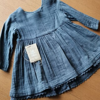 Caramel baby&child  - 90 18m little cotton clothes ワンピース