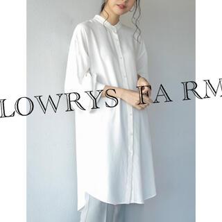 LOWRYS FARM - jh様専用  LOWRYS FARM  スタンドカラーシャツ