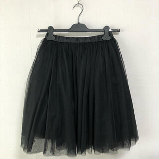 アナスイ(ANNA SUI)のチュールスカート ANNA SUI 新品未使用タグ付き(ひざ丈スカート)