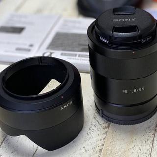 SONY - sony Sonnar T* FE 55mm F1.8 単焦点レンズ 新品同様