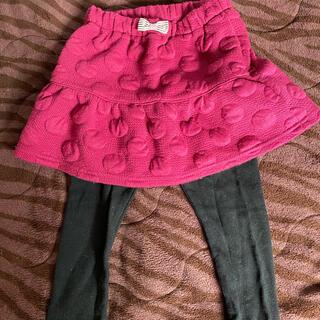 エニィファム(anyFAM)のanyfam スカートつきパンツ 90サイズ(パンツ/スパッツ)