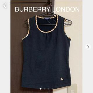BURBERRY - BURBERRY LONDON♡♡ 激かわ! タンクトップ♡♡ お洒落♡♡