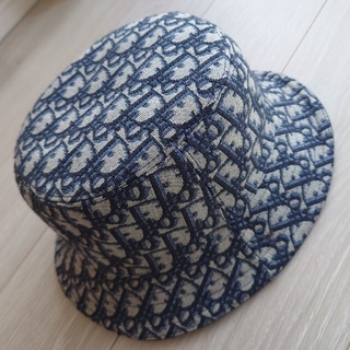 ディオールオム(DIOR HOMME)のdior 帽子ハット オブリーク ボブハット(ハット)