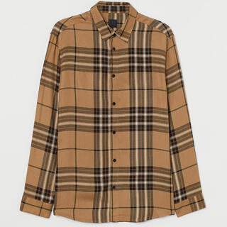 エイチアンドエム(H&M)のチェックシャツ h&m(シャツ)