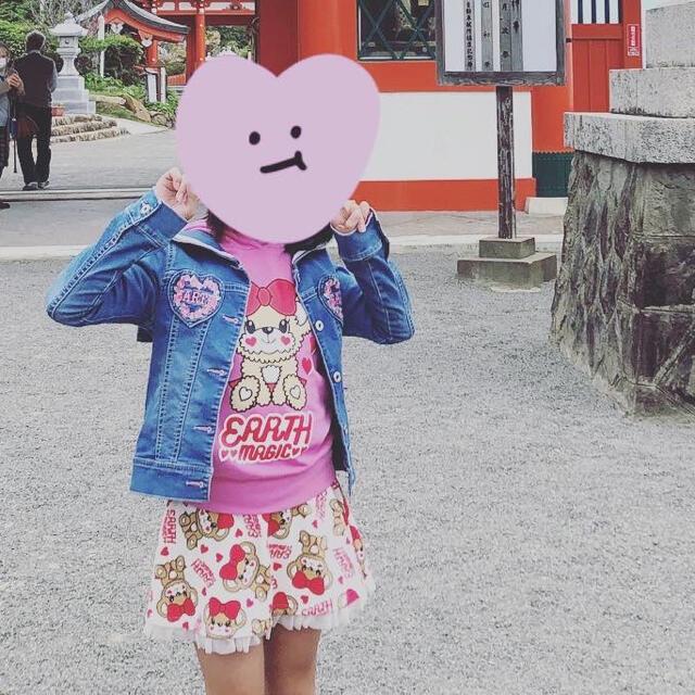 EARTHMAGIC(アースマジック)のmii様専用❤ キッズ/ベビー/マタニティのキッズ服女の子用(90cm~)(Tシャツ/カットソー)の商品写真