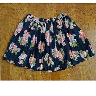 ジェーンマープル(JaneMarple)のJaneMarple薔薇柄スカート(ミニスカート)