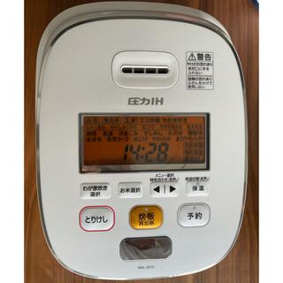 ゾウジルシ(象印)のZOJIRUSHI NW-JS10-WA 象印 炊飯器 5.5合 圧力IH式(炊飯器)