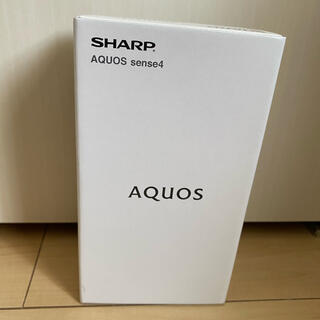 SHARP AQUOS sense4 SIMフリー シルバー