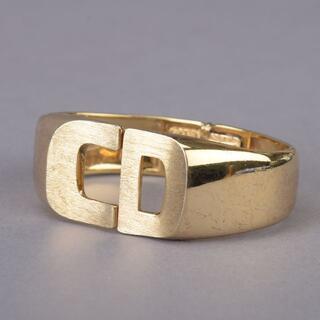 Christian Dior - クリスチャン・ディオール Dior CDロゴ バングル ブレスレット ゴールド