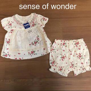 センスオブワンダー(sense of wonder)の新品 センスオブワンダー セットアップ 70 野いちご イチゴ(Tシャツ)