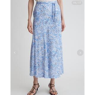 Mila Owen - マーメイド花柄ナロースカート