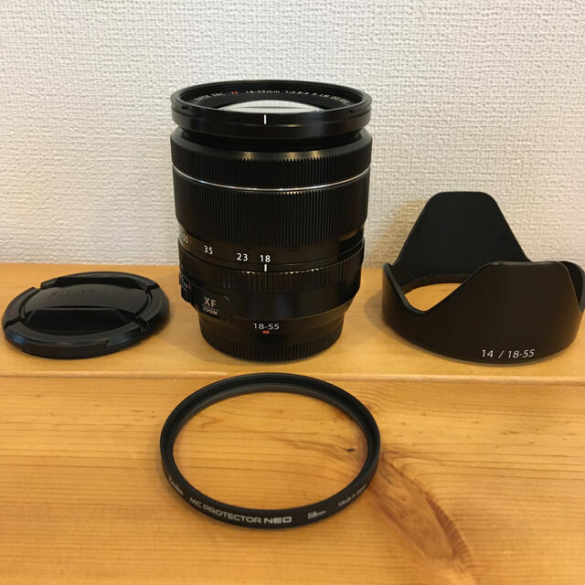 富士フイルム(フジフイルム)のXF18-55mm f2.8-4 R LM OIS スマホ/家電/カメラのカメラ(レンズ(ズーム))の商品写真