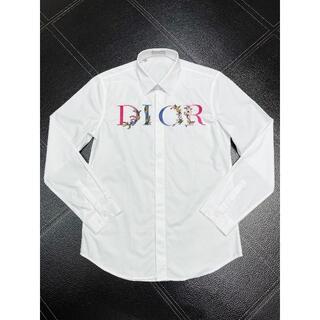 Dior - 【Dior】 DIOR FLOWERS シャツ (ホワイト)