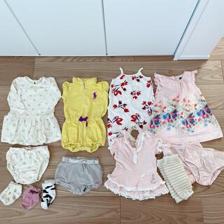 ポロラルフローレン(POLO RALPH LAUREN)のベビー服 まとめ売り 80(ロンパース)