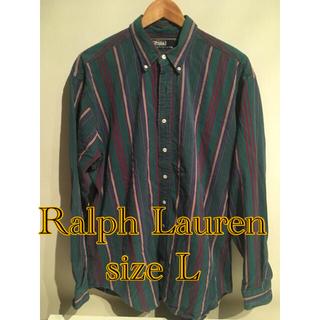 ポロラルフローレン(POLO RALPH LAUREN)のレア!クレイジーカラーRalph Laurenシャツ 民族ネイティブビンテージ(シャツ)