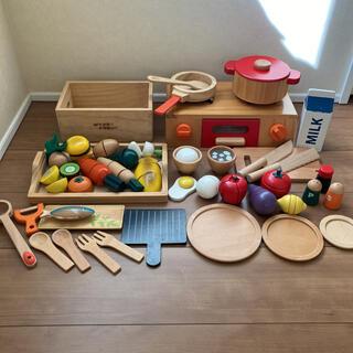 ままごと 木製 ウッディプッディ 廃盤 木のおもちゃ