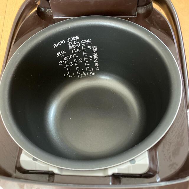 象印(ゾウジルシ)の象印 炊飯器 5.5合 スマホ/家電/カメラの調理家電(炊飯器)の商品写真