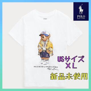 ポロラルフローレン(POLO RALPH LAUREN)の【新品未使用】05  ポロ ラルフローレン ポロベア Tシャツ メンズ M(Tシャツ/カットソー(半袖/袖なし))