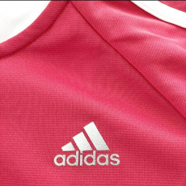 adidas(アディダス)のadidas アディダス ジャージ ピンク S レディース レディースのトップス(その他)の商品写真