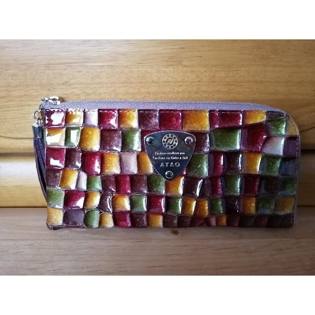 ATAO(アタオ)のATAOリモ セピアボルドーLimo レディースのファッション小物(財布)の商品写真