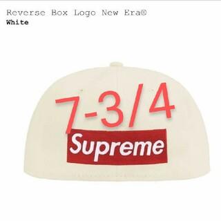 シュプリーム(Supreme)の21SS Reverse Box Logo New Era(キャップ)