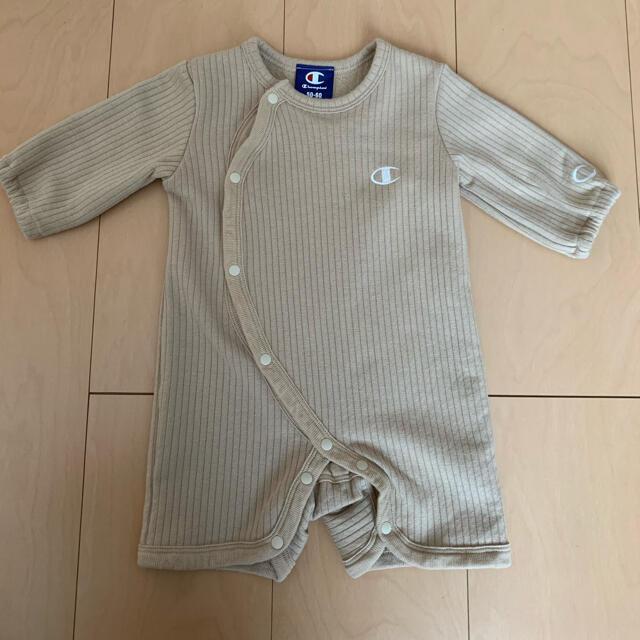 Champion(チャンピオン)の新生児服 champion キッズ/ベビー/マタニティのベビー服(~85cm)(ロンパース)の商品写真