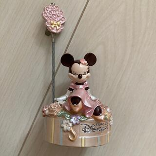 Disney - カードスタンド ミニー 香港ディズニーランド