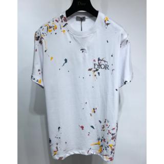 Dior - 【Dior】2021SS DIOR ペイント オーバーサイズ Tシャツ M