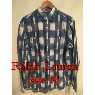 ポロラルフローレン(POLO RALPH LAUREN)のレア柄RalphLaurenチェックシャツUSAアメリカ古着アメカジネイティヴ(シャツ)